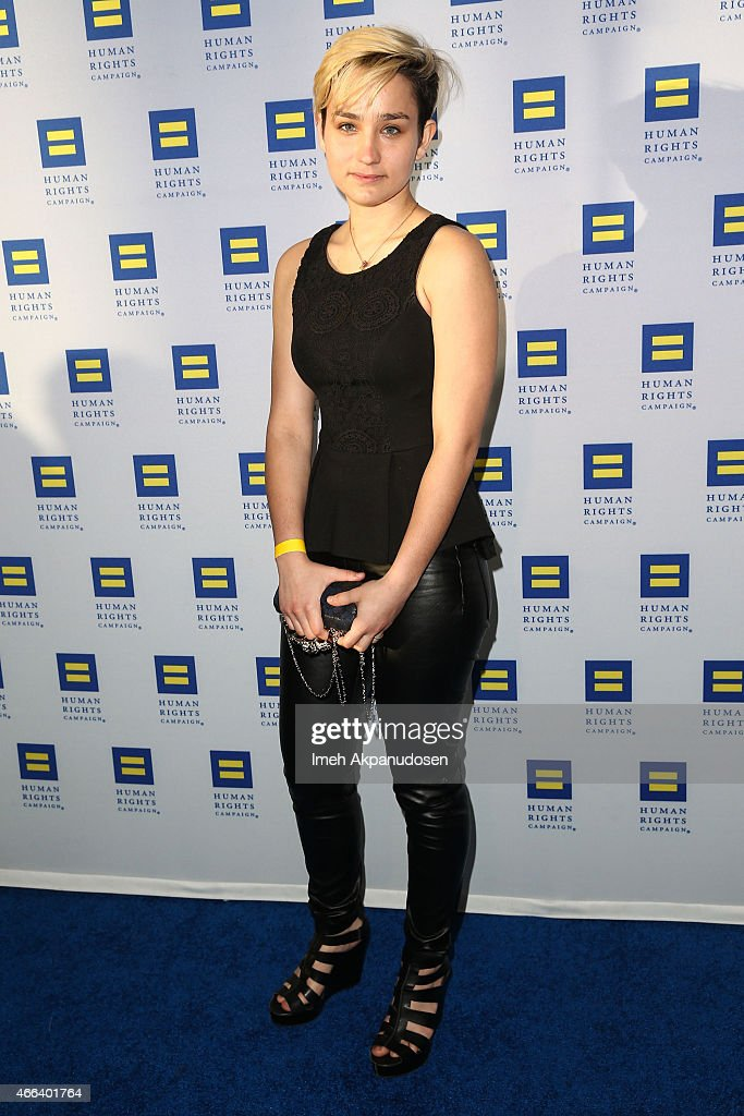 2015 Human Rights Campaign Los Angeles Gala Dinner - Arrivals : News Photo