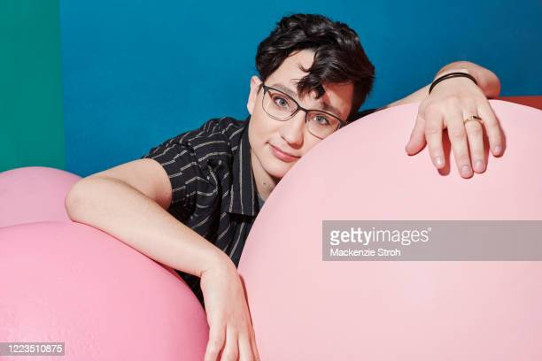 Actress Bex Taylor-Klaus is photographed for Entertainment Weekly Magazine on February 27, 2020 at Savannah College of Art and Design in Savannah,...