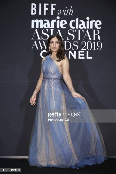 Actress Bhumi Pednekar attends the Marie Claire 2019 Asia Star Awards on October 04, 2019 in Busan, South Korea.