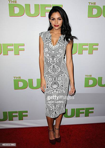 Actress Bianca A Santos attends the premiere of The Duff at TCL Chinese 6 Theatres on February 12 2015 in Hollywood California