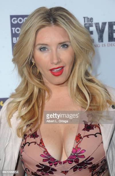 Actress Bianca de la Garza arrives for the Premiere Of Parade Deck Films' The Eyes held at Arena Cinelounge on April 7 2017 in Hollywood California