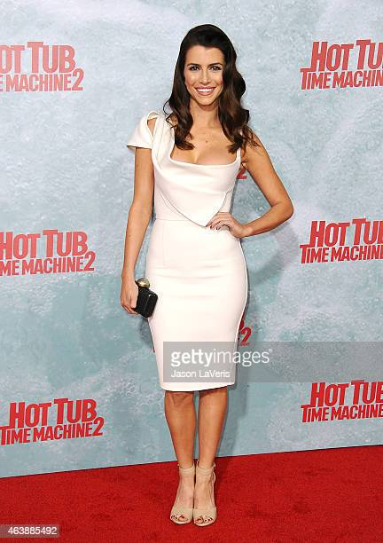 Actress Bianca Haase attends the premiere of Hot Tub Time Machine 2 at Regency Village Theatre on February 18 2015 in Westwood California