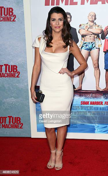 "Actress Bianca Haase attends the premiere of Paramount Pictures' ""Hot Tub Time Machine 2"" at the Regency Village Theatre on February 18, 2015 in..."