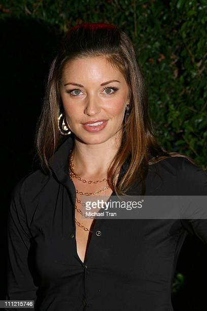 Actress Bianca Kajlich arrives at The Cadillac of Premieres at Area Nightclub on September 19 2007 in West Hollywood California