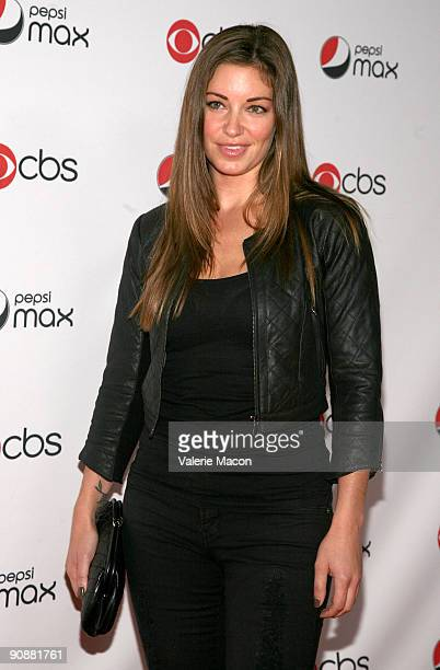 Actress Bianca Kajlich arrives at the CBS' New Season Celebration on September 16 2009 in Los Angeles California
