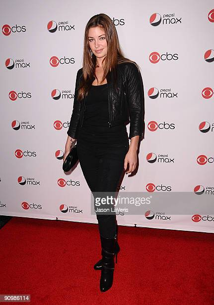 Actress Bianca Kajlich attends the CBS new season premiere party at MyHouse Nightclub on September 16 2009 in Hollywood California