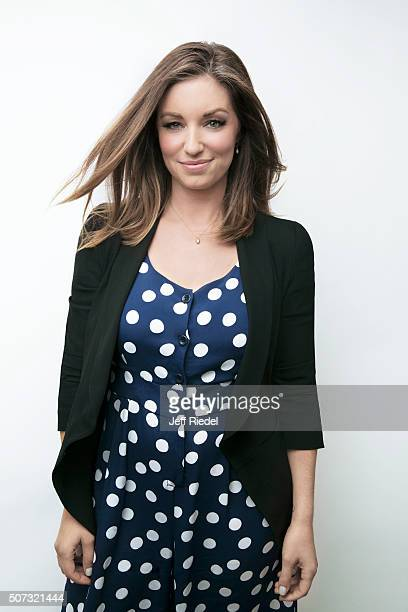 Actress Bianca Kajlich is photographed for TV Guide Magazine on January 16 2015 in Pasadena California