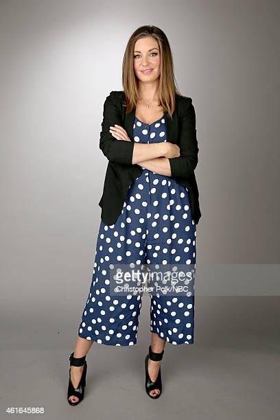 Actress Bianca Kajlich of Undateable poses for a portrait during the NBCUniversal TCA Press Tour at The Langham Huntington Pasadena on January 16...