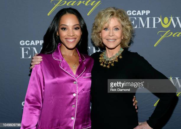 Actress Bianca Lawson and Jane Fonda GCAPP Founder Board Chair Emeritus attend The 2018 Georgia Campaign For Adolescent Power Potential EmPower Party...