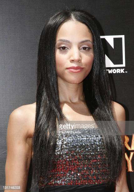 Actress Bianca Lawson arrives at the Cartoon Network's world premiere of 'Unnatural History' at Warner Bros Studios on June 12 2010 in Burbank...