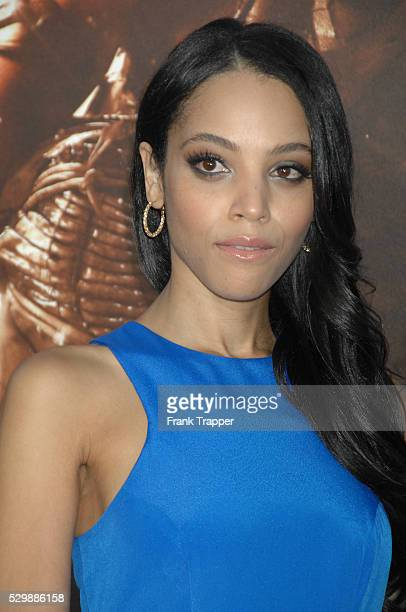 Actress Bianca Lawson arrives at the premiere of Riddick held at the Regency Village Theater in Westwood