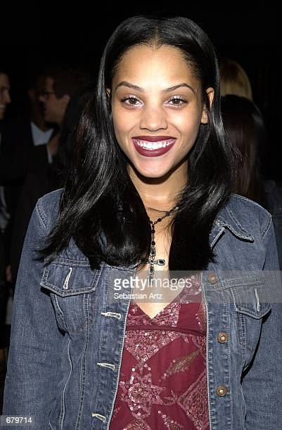 Actress Bianca Lawson arrives at the Showtime premiere of Anne Rice's The Feast Of All Saints November 07 2001 in Beverly Hills CA
