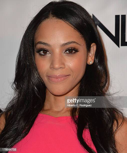 Actress Bianca Lawson arrives to Genlux Magazine's Issue Release party featuring Erika Christensen at The Sofitel Hotel on August 29 2013 in Los...