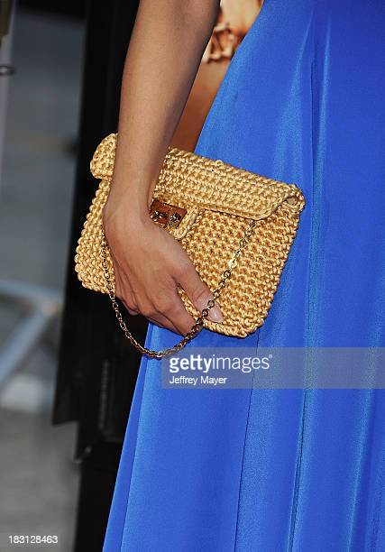Actress Bianca Lawson at the Los Angeles premiere of 'Riddick' at the Westwood Village Theatre on August 28 2013 in Westwood California
