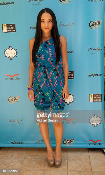 Actress Bianca Lawson attends Kari Feinstein MTV Movie Awards Style Lounge Day 2 at Montage Beverly Hills on June 4 2010 in Beverly Hills California