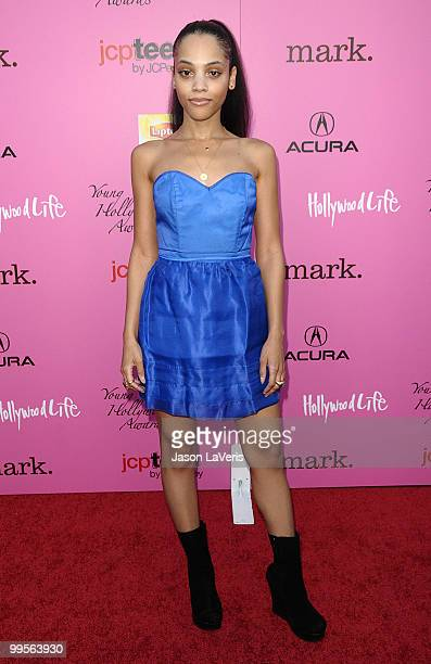 Actress Bianca Lawson attends the 12th annual Young Hollywood Awards at The Wilshire Ebell Theatre on May 13 2010 in Los Angeles California