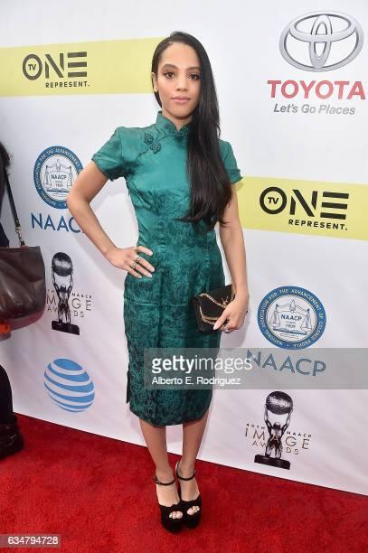 Actress Bianca Lawson attends the 48th NAACP Image Awards at Pasadena Civic Auditorium on February 11 2017 in Pasadena California