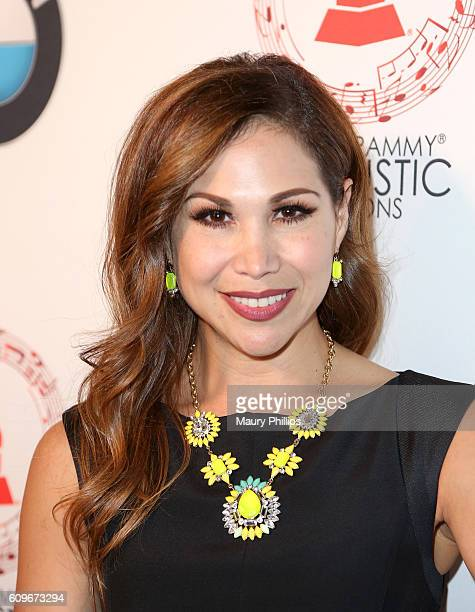 Actress Bianca Marroquin attends the Latin GRAMMY Acoustic Sessions Los Angeles on September 21 2016 in Los Angeles California