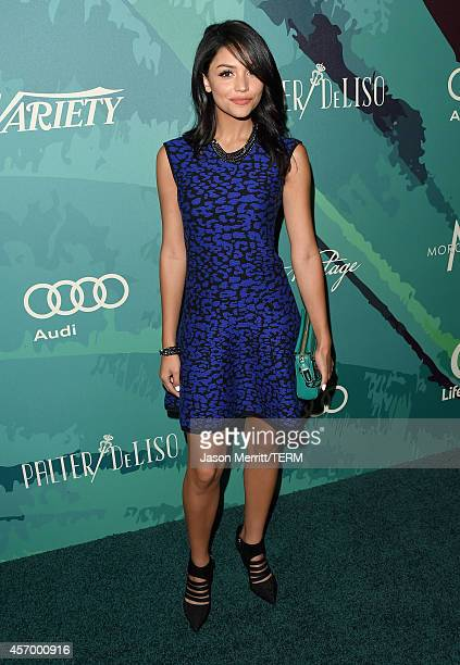 Actress Bianca Santos attends 2014 Variety Power of Women presented by Lifetime at Beverly Wilshire Four Seasons on October 10, 2014 in Los Angeles,...