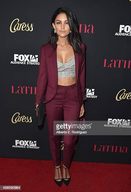 Actress Bianca Santos attends LATINA Magazine's Hollywood Hot List party at the Sunset Tower Hotel on October 2 2014 in West Hollywood California