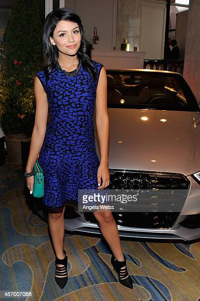 Actress Bianca Santos attends the 2014 Variety Power of Women presented by Lifetime at Beverly Wilshire Four Seasons Hotel on October 10 2014 in Los...