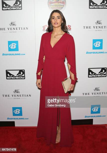Actress Bianca Van Damme attends the ninth annual Fighters Only World Mixed Martial Arts Awards at The Palazzo Las Vegas on March 2 2017 in Las Vegas...