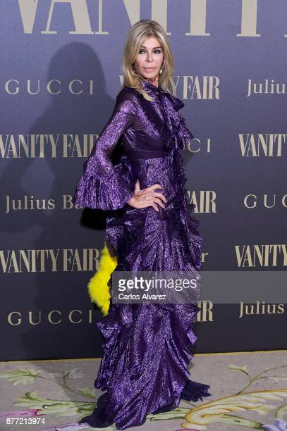 Actress Bibi Andersen attends the Vanity Fair Personality of the Year party at the Ritz Hotel on November 21 2017 in Madrid Spain