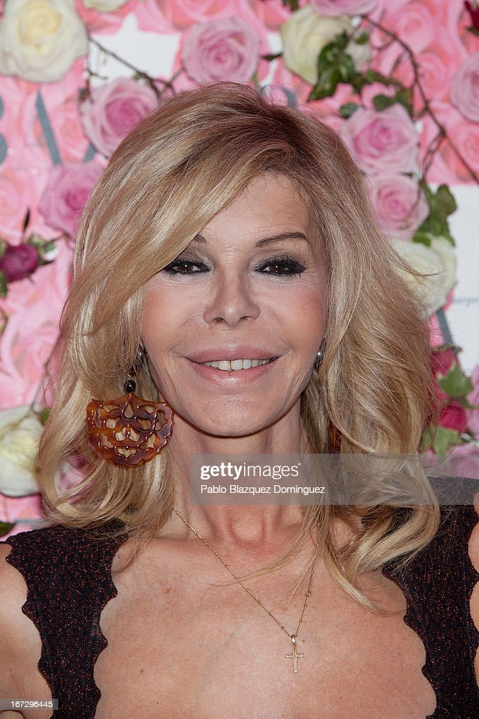 Actress Bibiana Fernandez attends the presentation of the new fragrance 'Rosa' at Ritz Hotel on April 23, 2013 in Madrid, Spain.