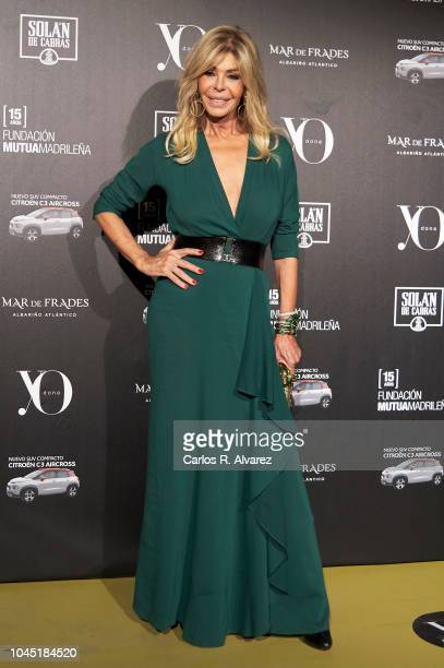 Actress Bibiana Fernandez attends the 'YO DONA' International Awards 2018 at Palacio de Linares on October 3 2018 in Madrid Spain
