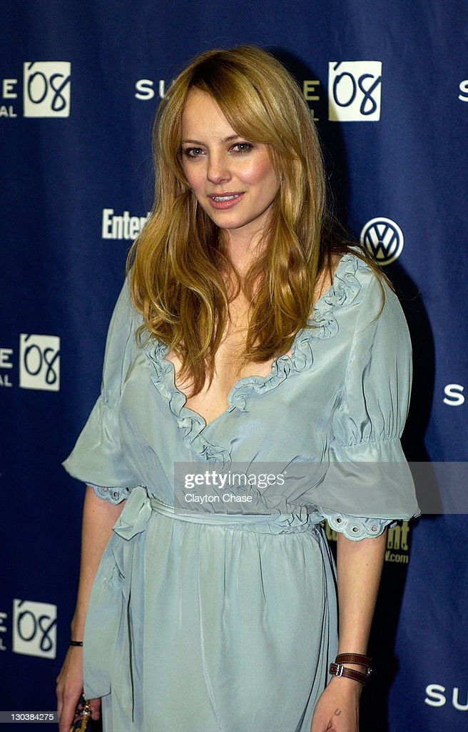 Actress Bijou Phillips attends a screening of 'Choke' at the Racquet Club Theatre during 2008 Sundance Film Festival on January 21, 2008 in Park City, Utah.