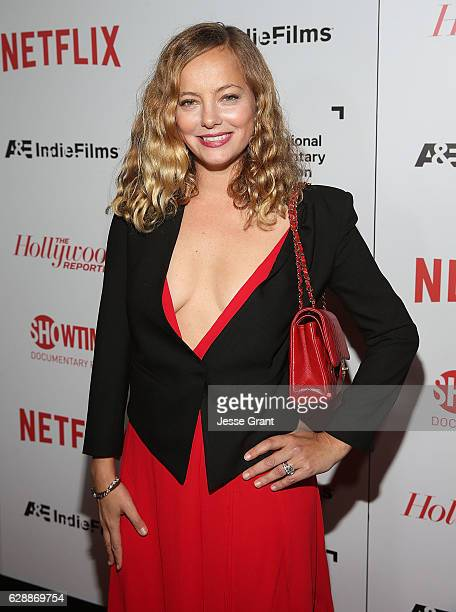 Actress Bijou Phillips attends the 32nd Annual IDA Documentary Awards held at Paramount Studios on December 9 2016 in Hollywood California