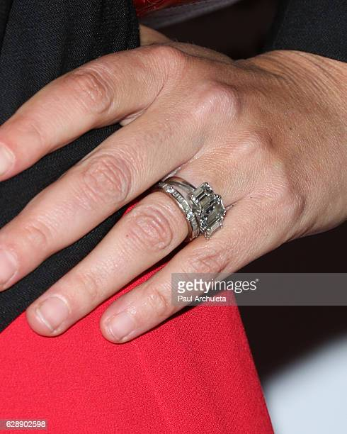 Actress Bijou Phillips Jewelry Detail attends the 32nd annual IDA Documentary Awards at Paramount Studios on December 9 2016 in Hollywood California