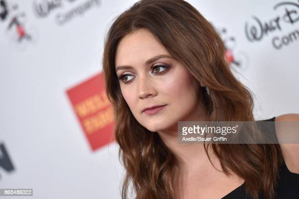 Actress Billie Lourd arrives at the 2017 GLSEN Respect Awards at the Beverly Wilshire Four Seasons Hotel on October 20 2017 in Beverly Hills...