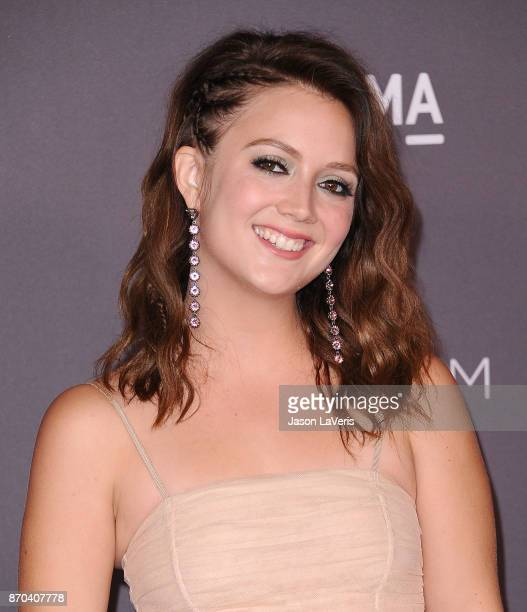Actress Billie Lourd attends the 2017 LACMA Art Film gala at LACMA on November 4 2017 in Los Angeles California