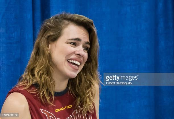 Actress Billie Piper attends Wizard World Comic Con Philadelphia 2017 Day 4 at Pennsylvania Convention Center on June 4 2017 in Philadelphia...