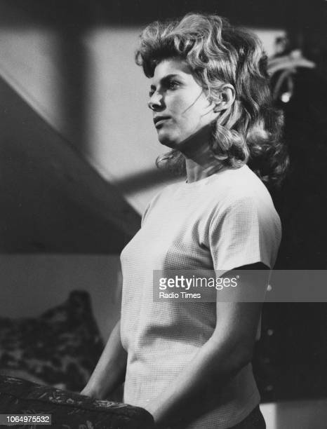 Actress Billie Whitelaw in a scene from episode 'Veronica' of the drama series 'First Night', October 1963.