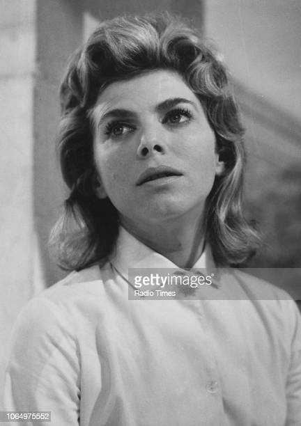 Actress Billie Whitelaw in a scene from episode 'Veronica' of the drama series 'First Night', October 1963. First printed in Radio Times issue 2086,...