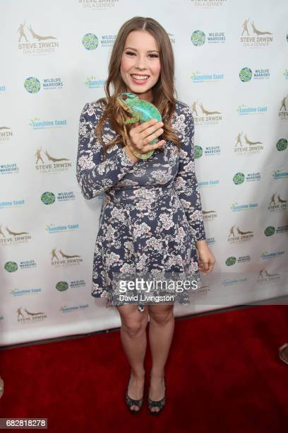 Actress Bindi Irwin attends the Steve Irwin Gala Dinner at the SLS Hotel at Beverly Hills on May 13 2017 in Los Angeles California