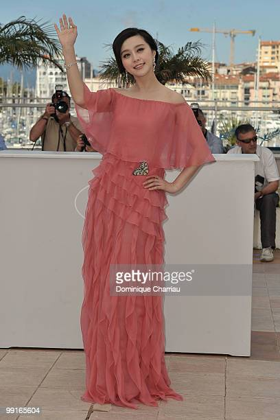 Actress Bingbing Fan attends the 'Chongging Blues' Photocall held at the Palais Des Festivals during the 63rd Annual International Cannes Film...