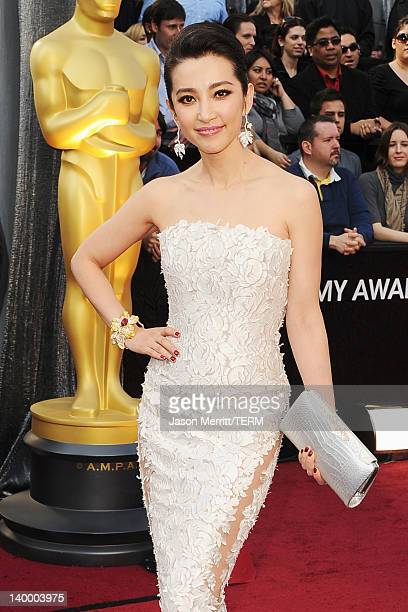 Actress Bingbing Li arrives at the 84th Annual Academy Awards held at the Hollywood Highland Center on February 26 2012 in Hollywood California