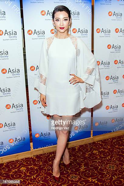 Actress Bingbing Li attends the 2013 US China Film Summit and Gala Dinner at Millennium Biltmore Hotel on November 5 2013 in Los Angeles California