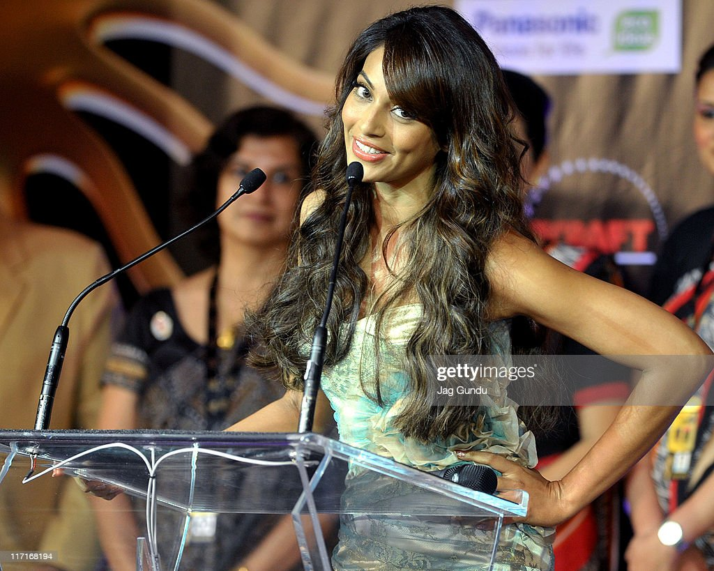 Actress Bipasha Basu at the 2011 IIFA official launch press conference held at Toronto`s Fairmont Royal York Hotel on June 23 2011 in Toronto Canada