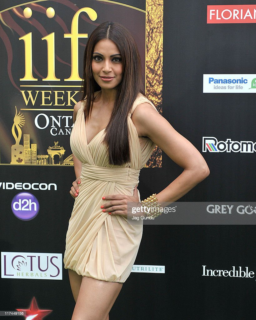 Actress Bipasha Basu attends the IIFA Awards green Carpet held at the Rogers Centre on June 25 2011 in Toronto Canada