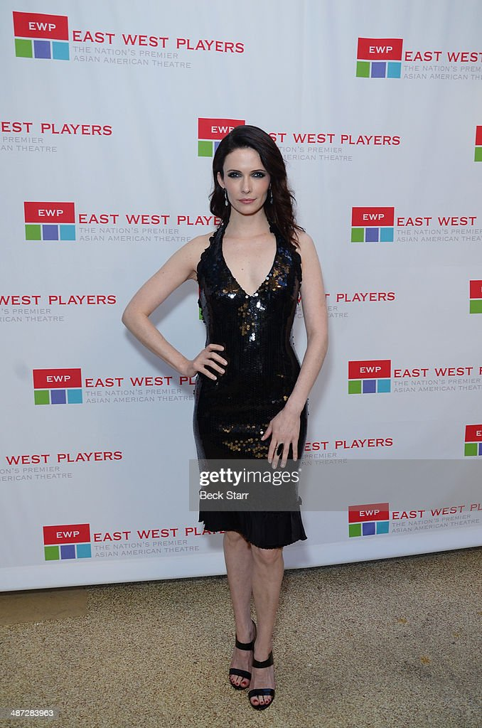 Actress Bitsie Tulloch arrives at Making Light East West Players 48th Anniversary Visionary Awards at Hilton Universal City on April 28, 2014 in Universal City, California.