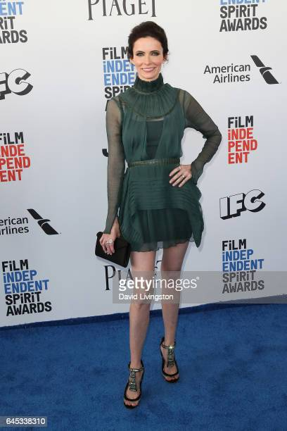 Actress Bitsie Tulloch attends the 2017 Film Independent Spirit Awards on February 25 2017 in Santa Monica California