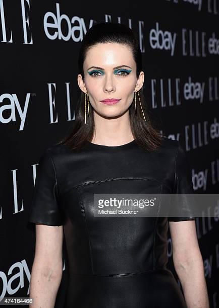 Actress Bitsie Tulloch attends the 6th annual ELLE Women In Music celebration presented By eBay Hosted by Robbie Myers with performances by Alanis...