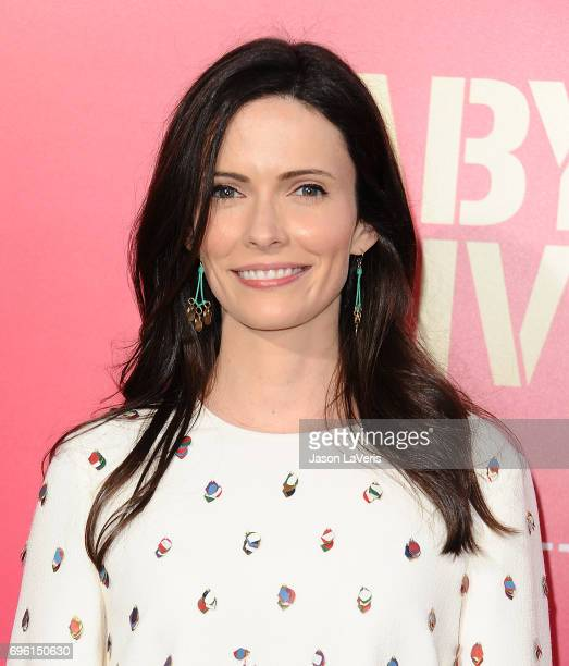 Actress Bitsie Tulloch attends the premiere of 'Baby Driver' at Ace Hotel on June 14 2017 in Los Angeles California