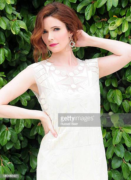 Actress Bitsie Tulloch is photographed for Be magazine on August 15 2013 in Santa Monica California PUBLISHED IMAGE