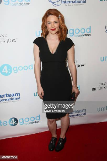Actress Blair Bomar attends the 4th annual unite4humanity Gala at the Beverly Wilshire Four Seasons Hotel on April 7 2017 in Beverly Hills California