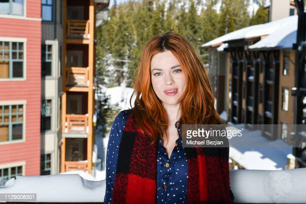 Actress Blair Bomar poses for portrait at the 2nd Annual Mammoth Film Festival on February 07 2019 in Mammoth California